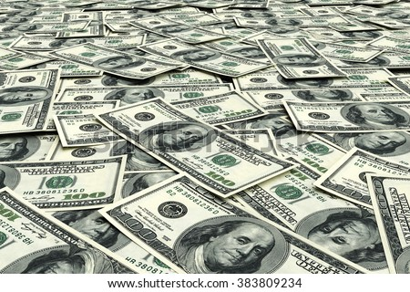 Money background from dollars usa. Business concept - stock photo