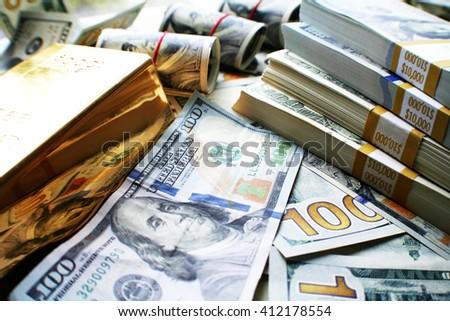 Money Background Stock Photo - stock photo