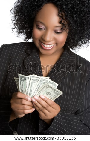Money Businesswoman