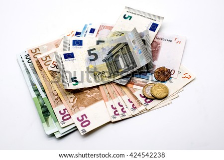 Money, Euro currency