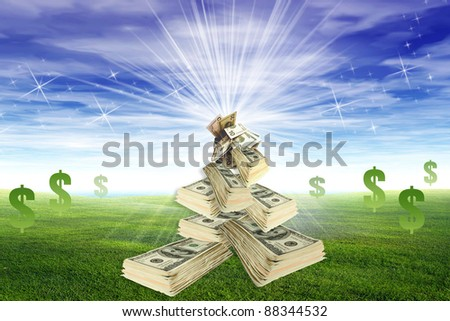 money investment - stock photo