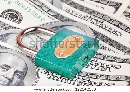 money security - stock photo