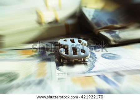 Money Sign Stock Photo High Quality  - stock photo