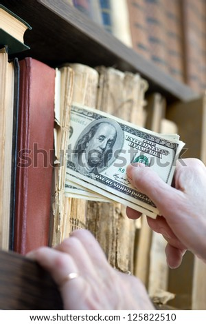 Money Stash - stock photo