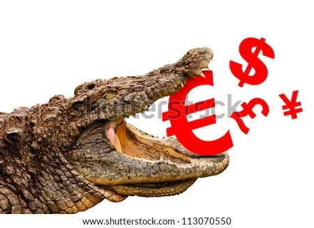 Money Symbols Euro Dollar Pound Yen Stock Photo 113070550 Shutterstock