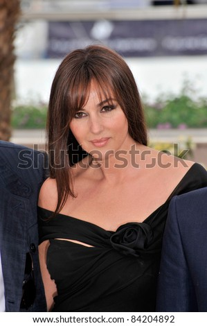 "Monica Bellucci at photocall for her new movie ""Sanguepazzo - Une Histoire Italienne"" at the 61st Annual Cannes Film Festival. May 19, 2008  Cannes, France. Picture: Paul Smith / Featureflash - stock photo"