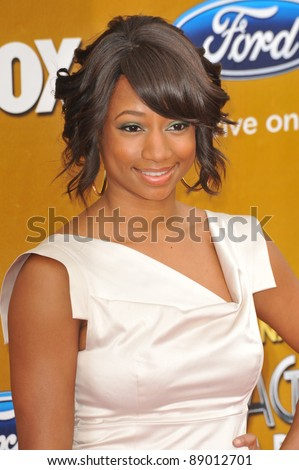 monique coleman at the 41st annual naacp image awards at the shrine auditorium february 26