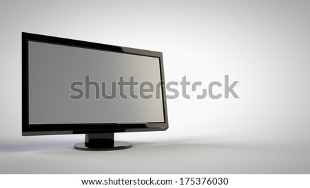 Monitor - stock photo