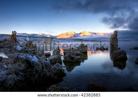 Mono Lake Sunrise 2 - stock photo
