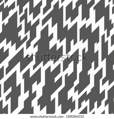 monochrome geometric seamless pattern (raster version)