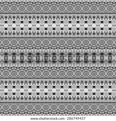 monochrome stripe ethnic pattern background