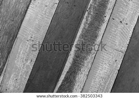 monocrome wooden background