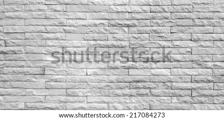 Monotone grunge brick wall background