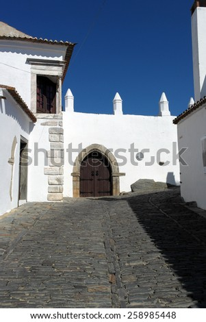Monsaraz, Alentejo, Portugal - stock photo