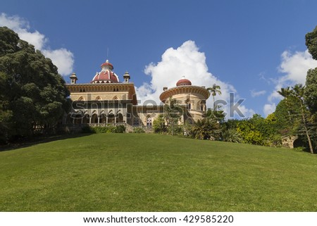 Monserrate Palace in Sintra - Portugal
