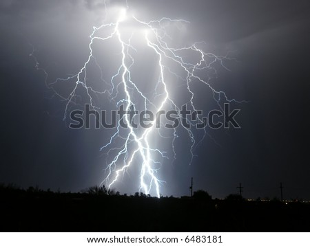 Monsoon Lightning, Tucson AZ