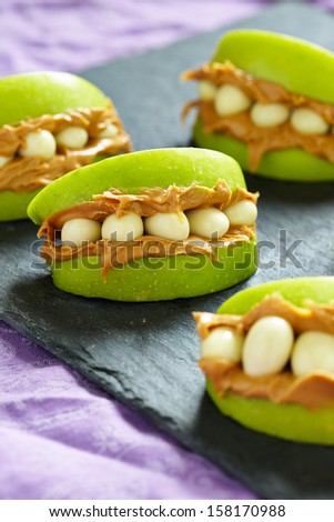 Monster Mouths for Halloween - stock photo