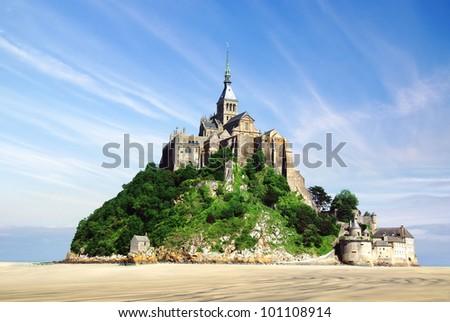 Mont Saint Michel - stock photo