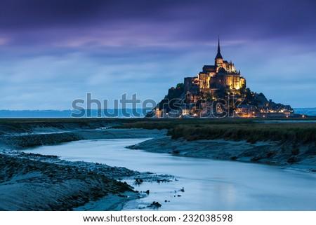 Mont Saint-Michel - stock photo