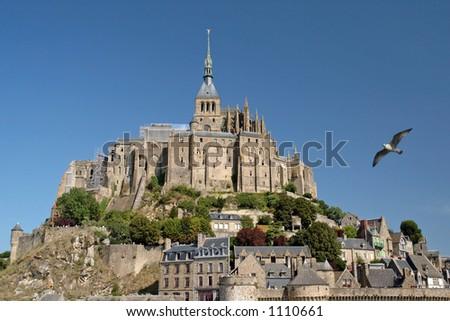 Mont-Saint-Michel (France) - stock photo