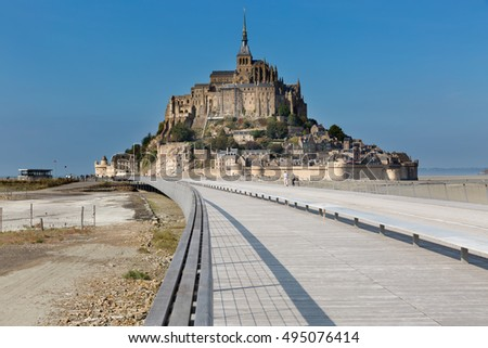 Mont saint Michel - Normandy - France
