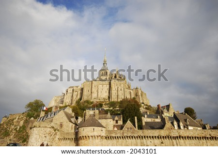 Mont St-Michel - stock photo