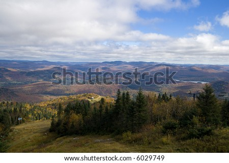 Mont-Tremblant - stock photo