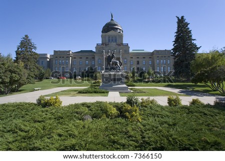 Montana - State Capitol in Helena - stock photo
