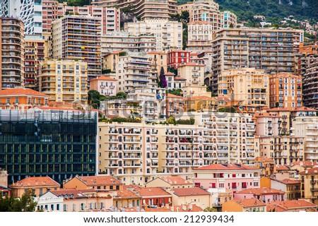 Monte Carlo luxurious housings - stock photo