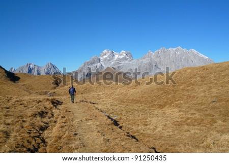 monte Crostis 03 - stock photo