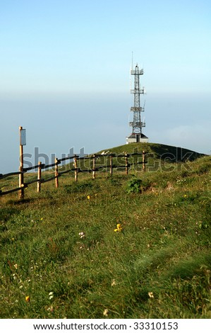 Monte Guglielmo (Bs),Lombardy,Italy, a repeater for military use