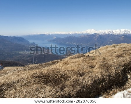 Montelema Ticino, Switzerland: Observed weather on top of Mount with 360 degree views of Ticino and Lake Maggiore