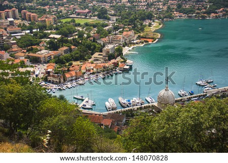 Montenegro, Kotor old town and Boka Kotor Bay