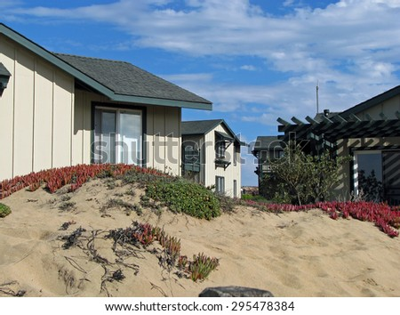 MONTEREY BAY BEACH, CA - NOVEMBER 15:  Sanctuary Beach Resort  2012 - stock photo