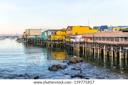 Monterey california stock images royalty free images for Monterey sport fishing