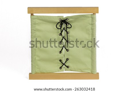 Montessori Dressing Frame - stock photo