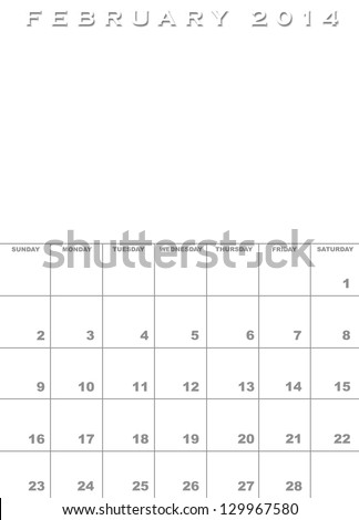 Annual Calendar Template Stock Photos RoyaltyFree Images