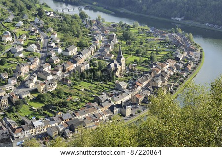 montherme' old village,  ardennes