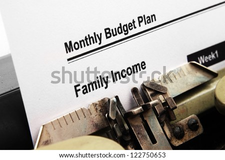 monthly budget plan stock photo royalty free 122750653 shutterstock