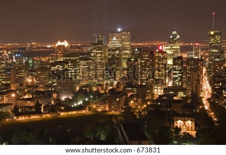 Montreal at Night 2