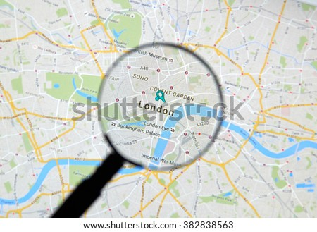 Montreal Canada February 2016 London On Stock Photo 382838563