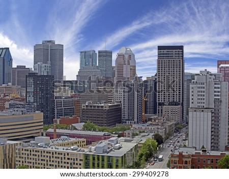 Montreal City - stock photo