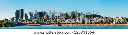 Montreal landscape, - stock photo