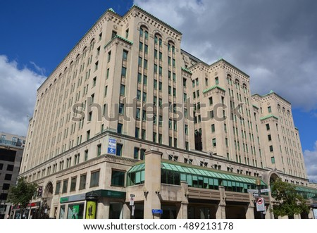 Dominion stock images royalty free images vectors - Td canada trust toronto head office ...