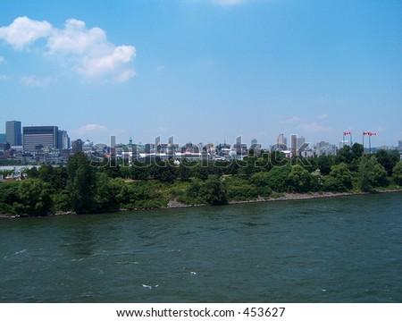 Montreal Ste-Helene Island - stock photo