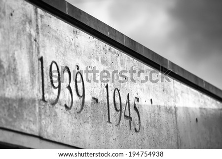 Monument of Second World War - stock photo