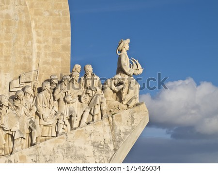 Monument to the Discoveries, Lisbon, Portugal.