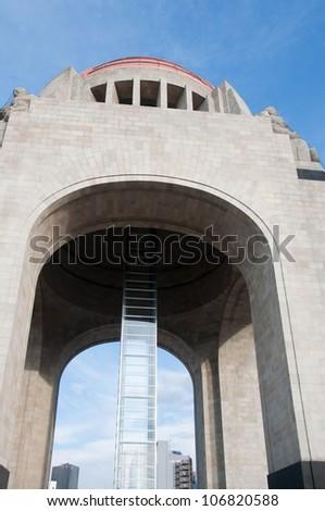 Monument to the Revolution, Mexico City - stock photo