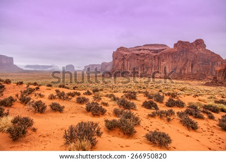 Monument Valley Landscape - stock photo