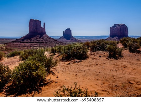Monument Valley Panorama, Utah